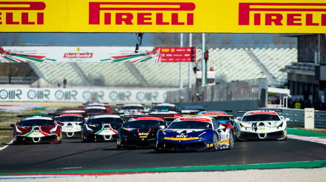 Finali Mondiali Ferrari a Misano World Circuit
