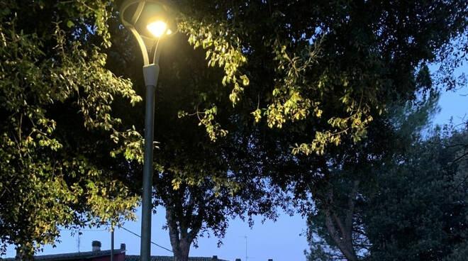 illuminazione led riolo terme