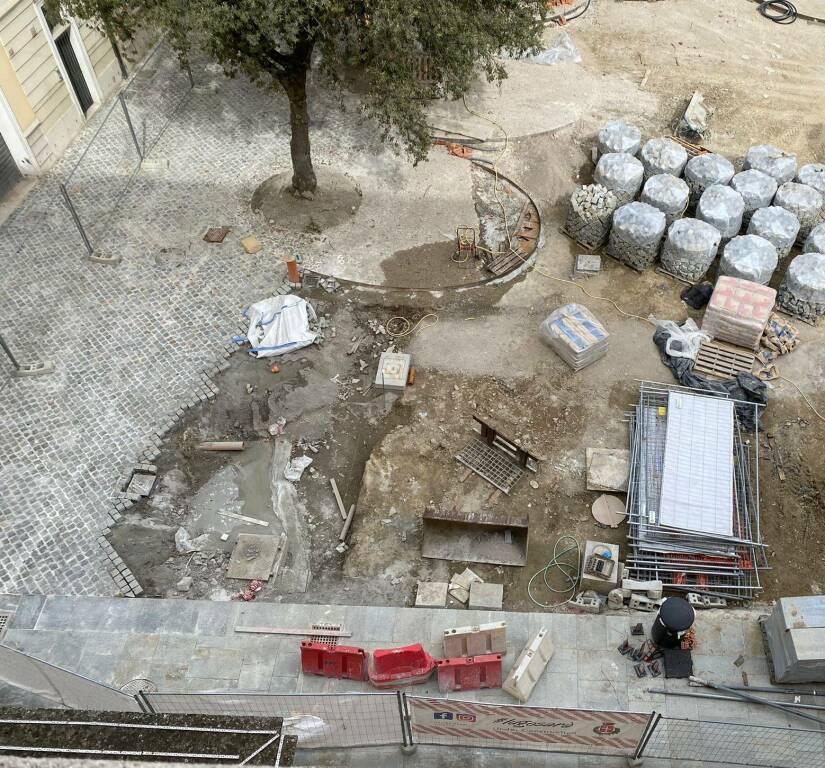 Lugo: la riqualificazione di piazza Savonarola