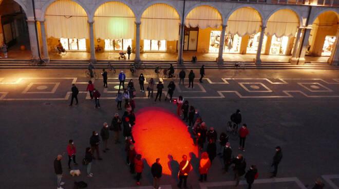 piazza del popolo faenza - femminicidio Ilenia Fabbri