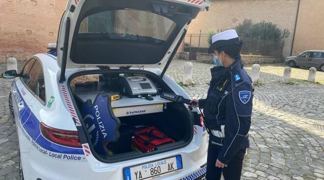 Polizia locale di Ravenna: nuova vettura per il Pronto intervento