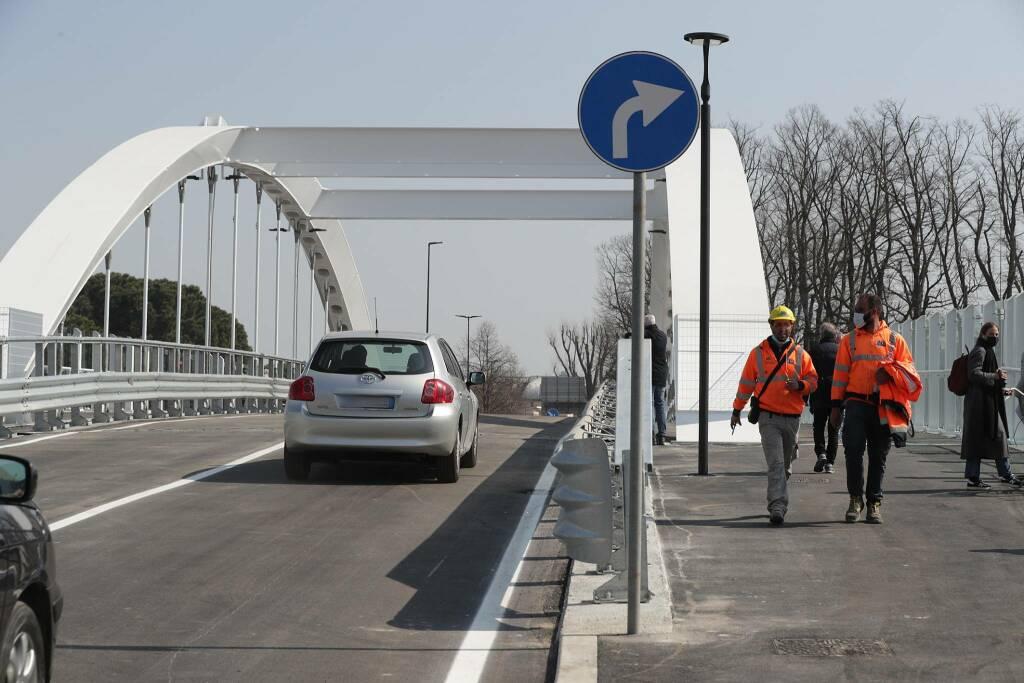 Riapertura ponte di Teodorico 26/03/2021