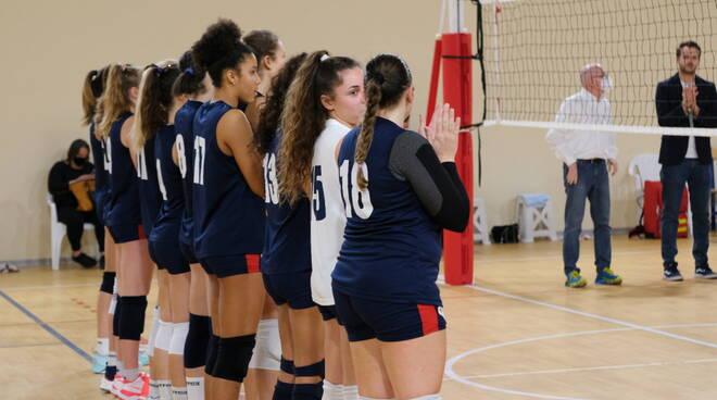 squadra di Serie B2 della Conad Olimpia Teodora ravenna volley
