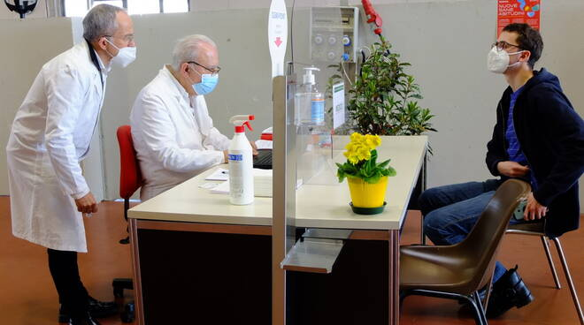 Vaccinazione a Faenza