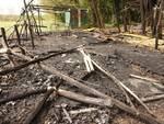 bar delle acacie arena balle di paglia cotignola distrutto incendio
