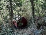 cisterna gasolio abbandonata