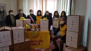 Da Coldiretti e Campagna Amica 500 kg di aiuti alimentari per le famiglie bisognose di Meldola