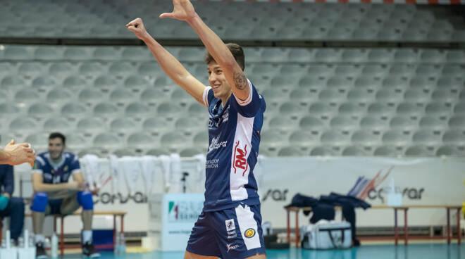 Volley_Francesco_Recine_Esulta