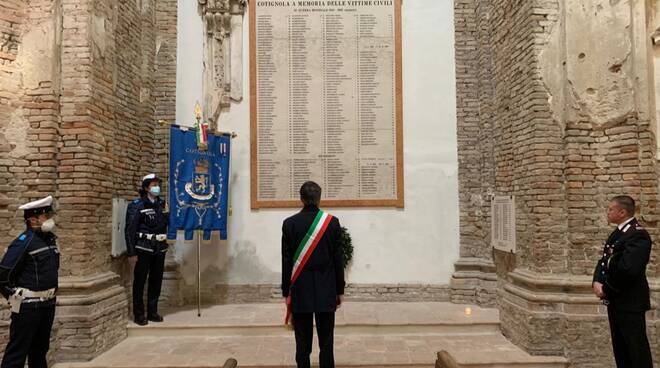 Liberazione di Cotignola-Celebrazione del 10 aprile 2020
