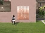 Mosaico linea rosa ex caserma parco Francesca da polenta