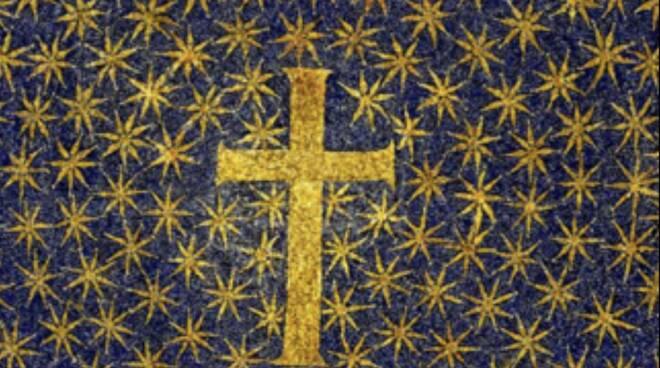mosaico stellato galla placidia