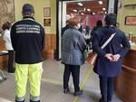 Protezione Civile di Massa Lombarda al lavoro anche nel giorno di Pasqua nel punto vaccinale di Lugo
