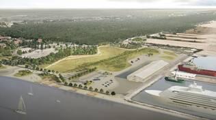 Ravenna Terminal crociere Progetto 2021 home port