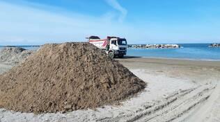 Ripascimento spiagge nel riminese