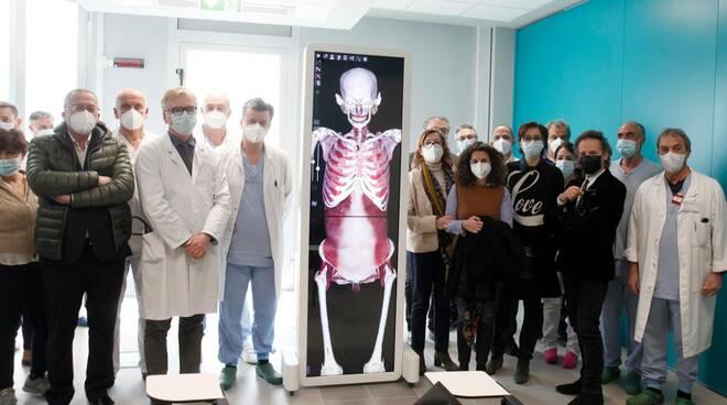 tavolo Anatomage - medicina ravenna