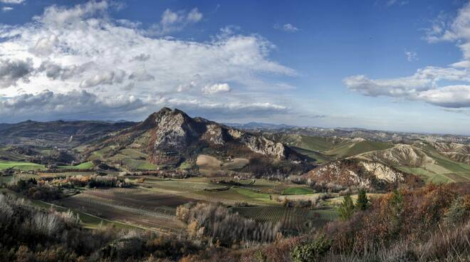 Vena del Gesso - Paesaggio Monte Mauro