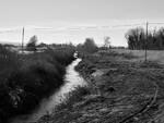 Il fiume Senio in una Foto di Michele Buda