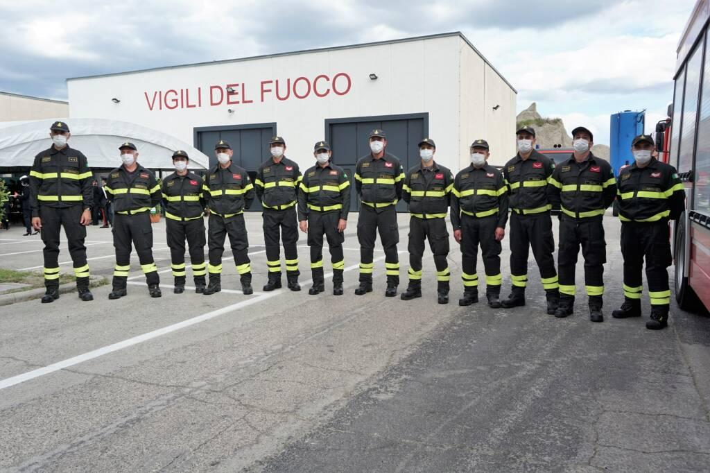 Inaugurata la nuova sede del distaccamento dei Vigili del Fuoco di Lugo