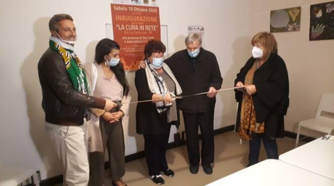 inaugurazione polo disabilità via le corbusier