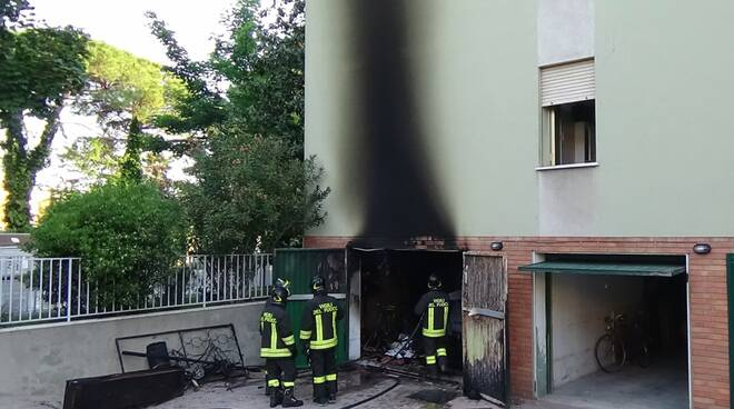 incendio faenza garage