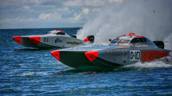 Motonautica 2021 - campionati marina di ravenna