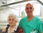 nonna centenaria e dr castriota