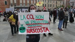 Ravenna. In piazza Kennedy la manifestazione per dire no all'impianto di stoccaggio di CO2