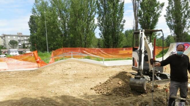 skate park faenza - lavori ampliamento