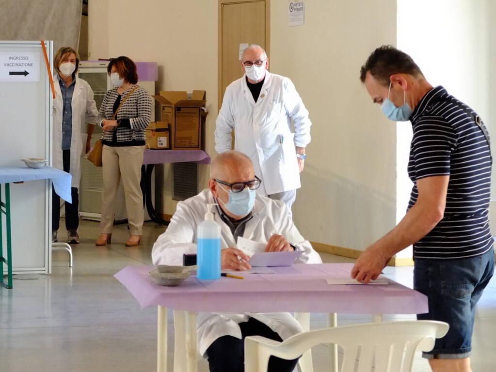 Vaccinazioni Romagna Faentina
