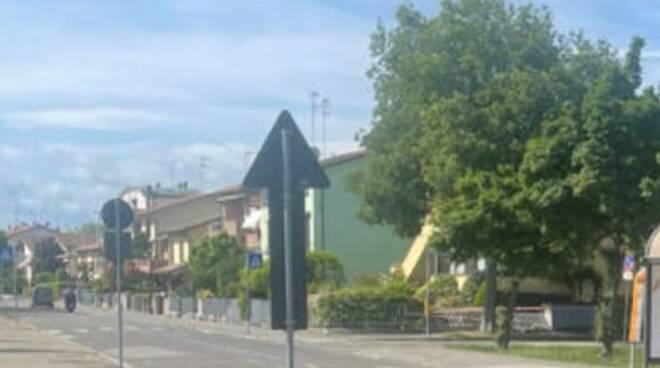 Via Chiavica Romea