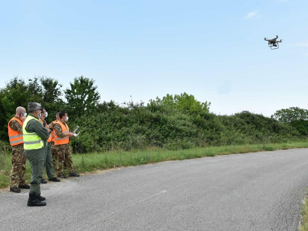 15 stormo - corso su sorvolo non autorizzato droni