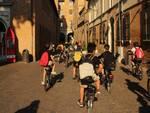 a scuola in bici