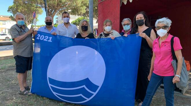 bandiera Blu - estate 2021 - Punta Marina Terme