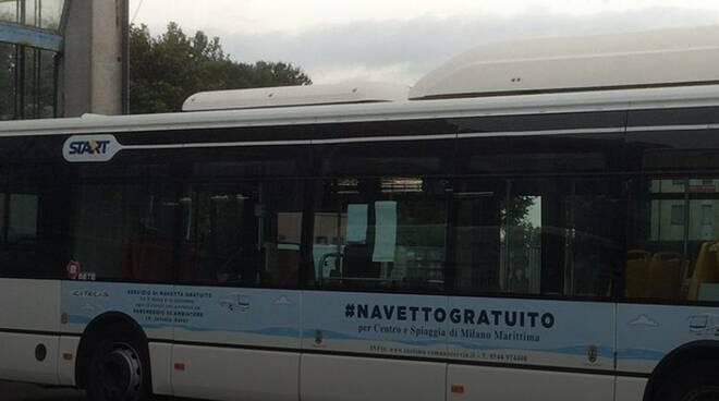 Bus Navetta Milano Marittima