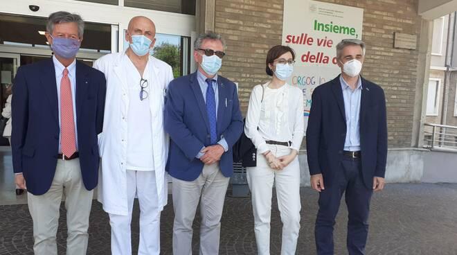 donazione LA BCC per Neurologia Ravenna