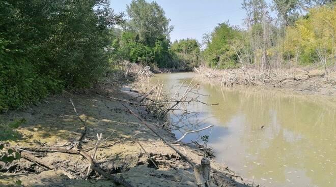 frana argini fiume savio mensa matellica