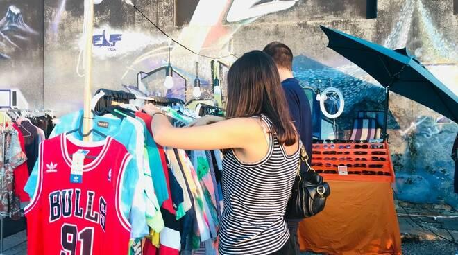 Garage sale in Darsena - mercatino