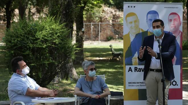 Michele de Pascale presenta il progetto di Movimentazione Civica