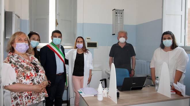 nuovo ambulatorio medico nel centro sociale di Villa San Martino