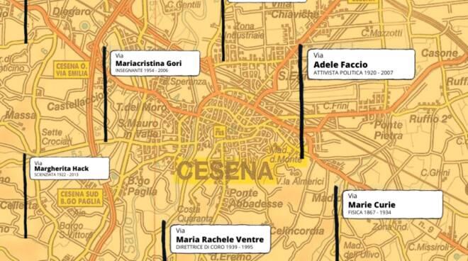 Pd Cesena-via donne