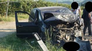 Scontro frontale tra due auto a pochi chilometri da Marzeno: quattro i feriti