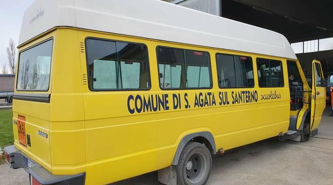 scuolabus sant'agata sul santerno