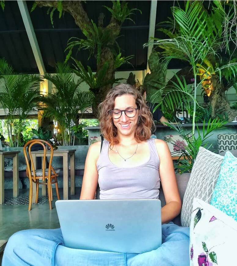 Arianna Magnani nomade digitale