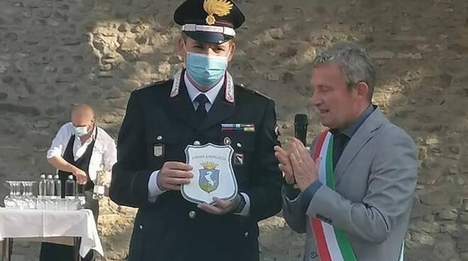 Brisighella-sindaco Perderzoli e comandante carabinieri