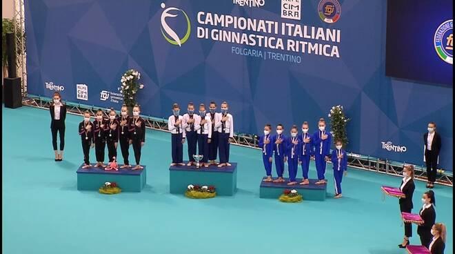 Bronzo per l'Endas Cervia ginnastica ritmica ai Campionati Italiani di Insieme FGI