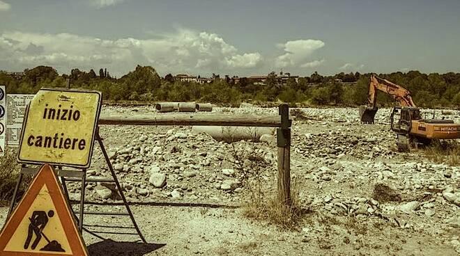 consumo suolo - cantiere -