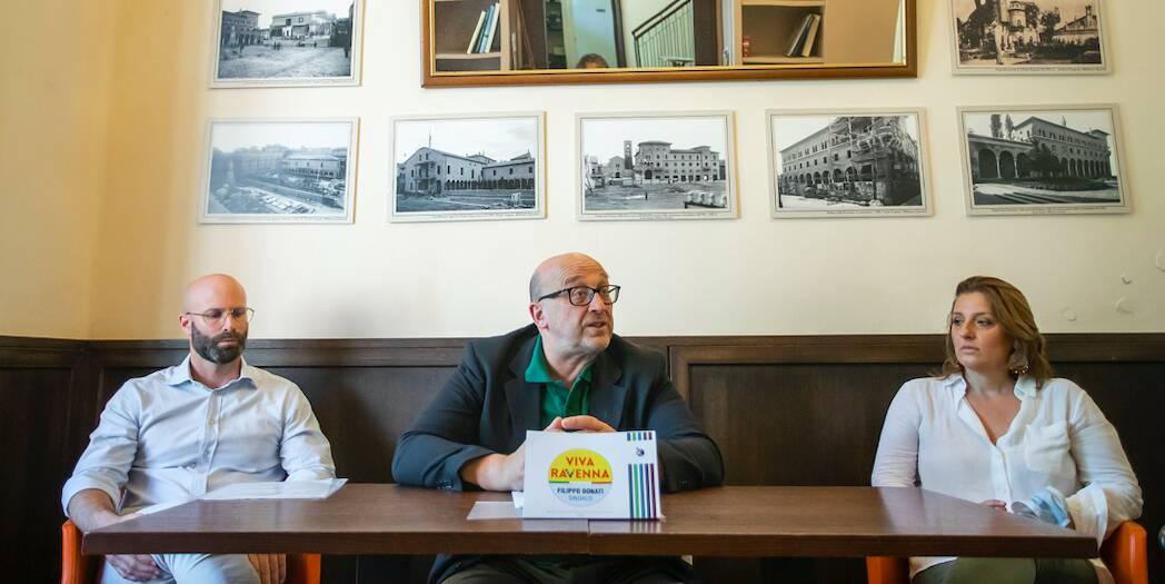 elezioni comunali, Filippo donati, viva ravenna