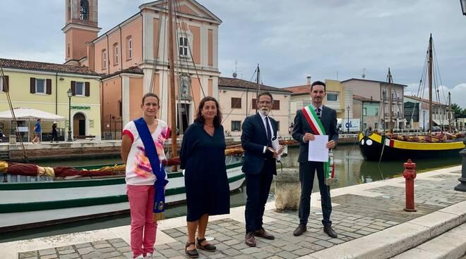 Firmato l'accordo di programma per la realizzazione del Ciclodromo di Villamarina