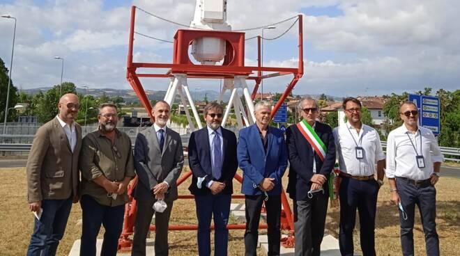 Forlì-inaugurazione rotonda