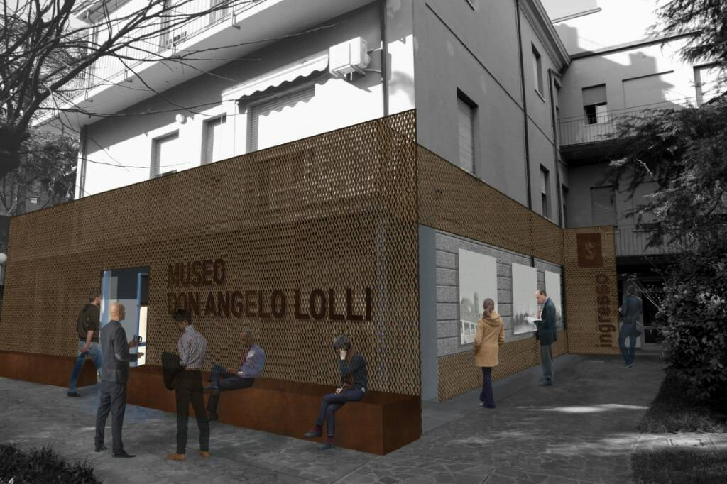 Foto e rendering Museo don Angelo Lolli